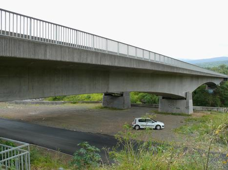 RN2 - Saint-André et Bras-Panon - Pont de la rivière du Mât