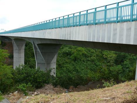RN2 - Sainte-Marie - Pont de la rivière Sainte-Marie