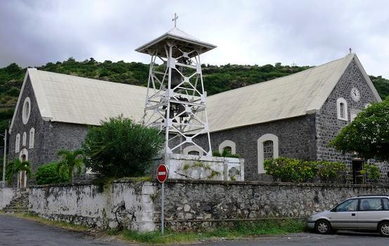 La Réunion - Saint-Paul - Eglise Paroissiale de la Conversion-de-Saint Paul avec son carillon