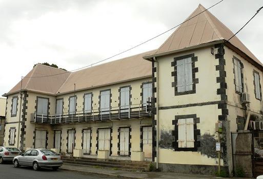 La Réunion - Saint-Paul - Hôtel de Lassays, caserne de pompiers