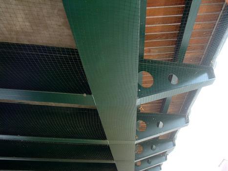 Pont de Laneuville-devant-NancySupports d'un trottoir