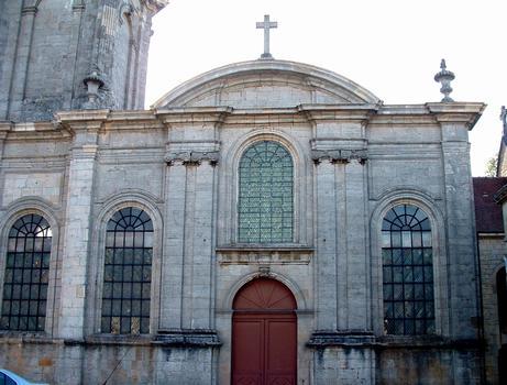 Langres - Eglise Saint-Martin - Détail de la façade