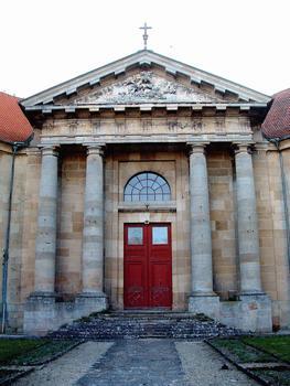 Langres - Hôpital de la Charité - Porte de la chapelle