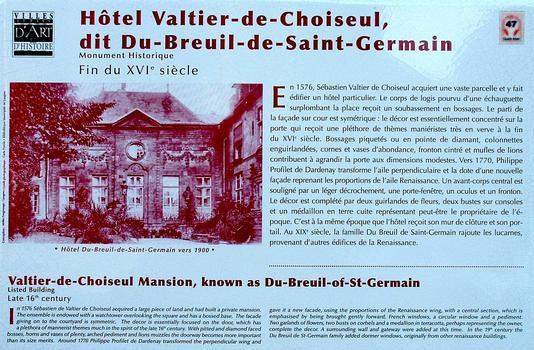 Hôtel Valtier-de Choiseul, Langres
