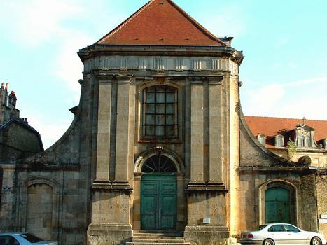 Langres - Couvent des Carmes déchaux - Chapelle - Façade