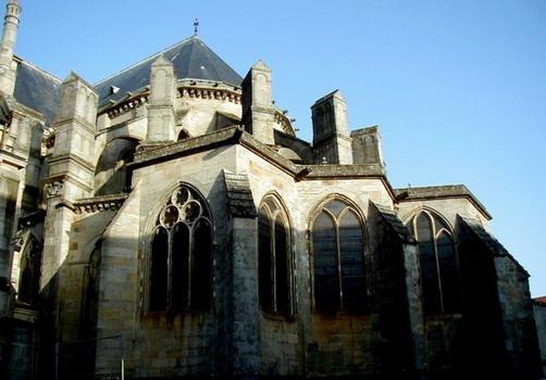 Cathédrale Saint-Mammès de Langres.Chevet