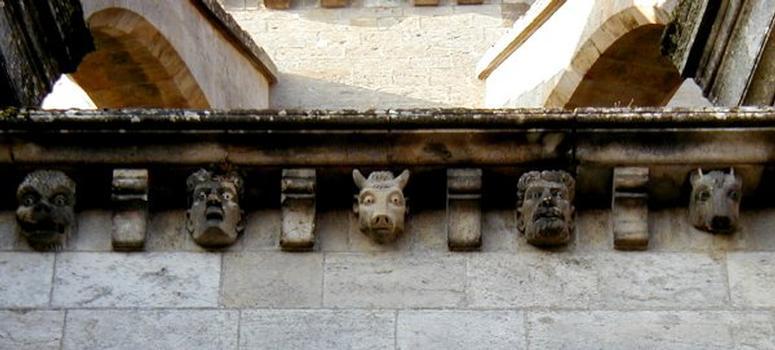 Cathédrale Saint-Mammès de Langres.Chevet - Détail