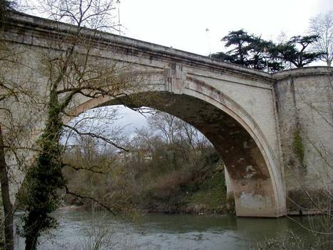 Pont Saint-Roch du CD47 sur l'Agout, Lavaur