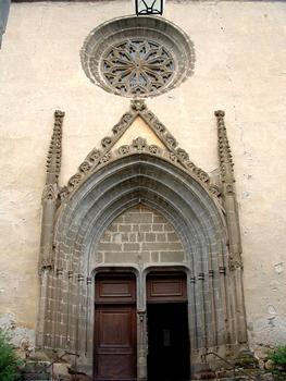 Lavoûte-Chilhac - L'église du prieuré - Portail