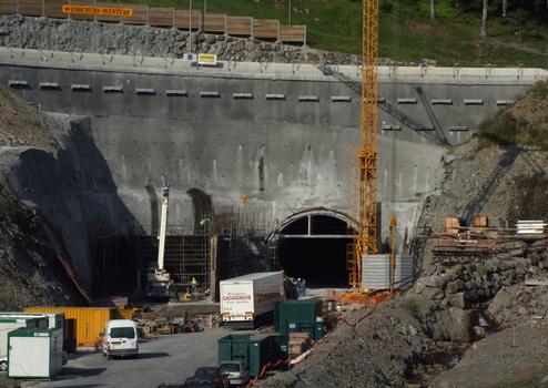 Nouveau tunnel routier du Lioran