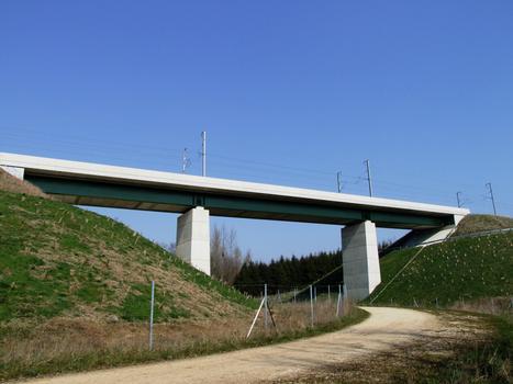 TGV Ost/Europa - Eisenbahnüberführung Essômes-sur-Marne