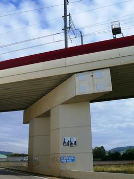 LGV Est-Europénne - Pont-rail de Vandières