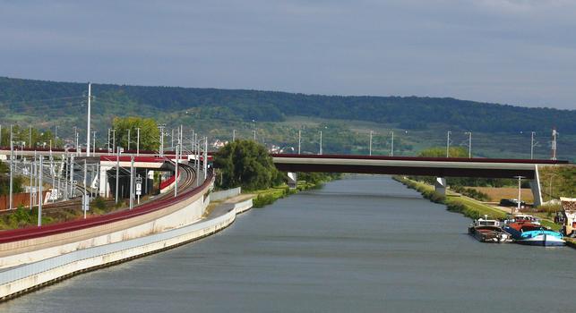 LGV Est-Européenne - Viaduc du canal de la Moselle