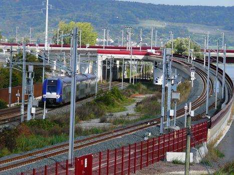 TGV Ost/Europa - Anschlußbauwerk zur Eisenbahnstrecke Metz-Nancy