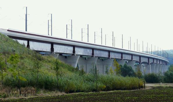 LGV Est-Européenne - Viaduc de la Moselle