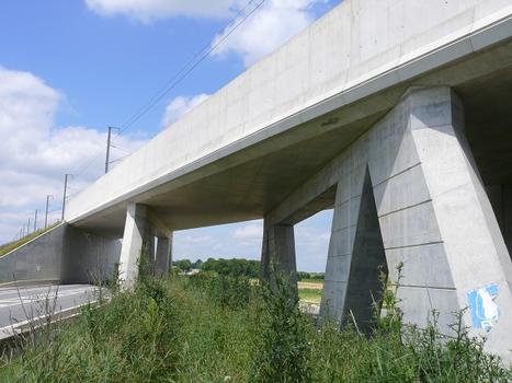 LGV Est-Européenne - Pont-rail de la RN44