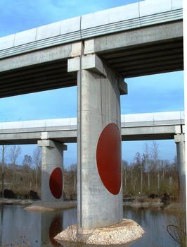 Junction Bridge between TGV East-Europe and TGV Eastern Junction