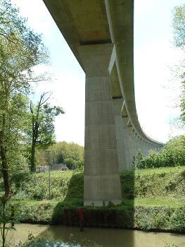 TGV Eastern Junction Viaduc de Chalifert.