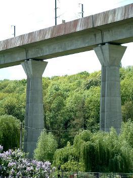 TGV Ostverbindung Viaduc de Chalifert