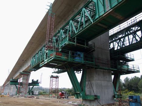 Hochgeschwindigkeitsstrecke Perpignan - Figueras - Ricardellviadukt
