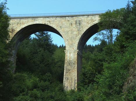 Ligne de chemin de fer Paray-le-Monial - Lozanne - Boucle de Claveisolles - Viaduc de Saint-Nizier-d'Azergues