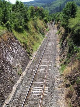 Cévennenbahn in Domeyrat