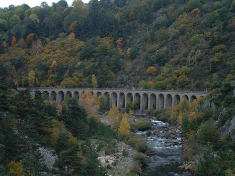 Cevennes Line Condres Viaduct