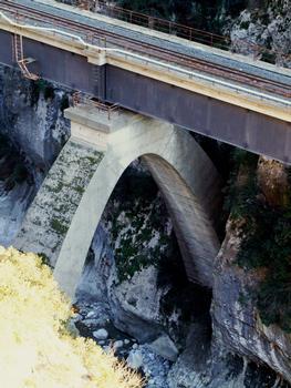 Ligne Nice - Coni - Sospel - Viaduc de la Bévera