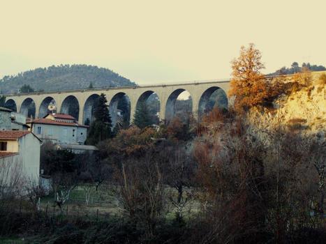 L'Escarène - Viaduc de l'Escarène