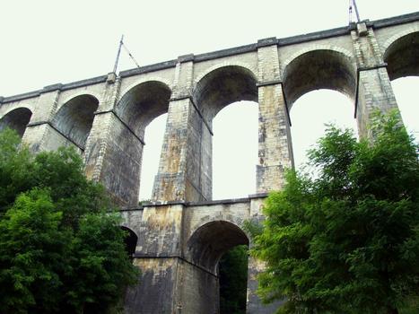 Ligne Paris - Dijon - Viaduc de la Combe Bouchard (pK 304,338)