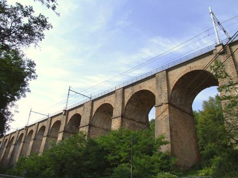 Eisenbahnviadukt Mâlain