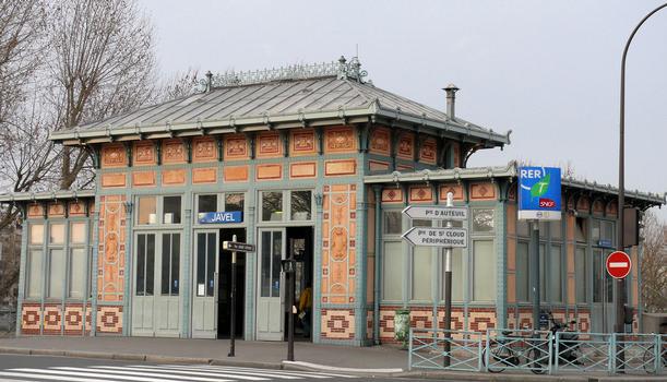 Ligne RER C - Paris 15ème arrondissement - Gare de Javel