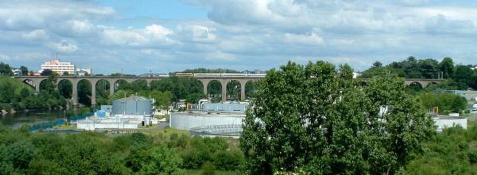 Pont ferroviaire, Limoges