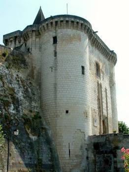 Cité royale médiévale, Loches.Porte royale, seul accès à la cité