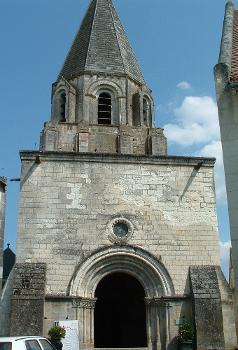 Loches - Eglise Saint-Ours - Avant-porche
