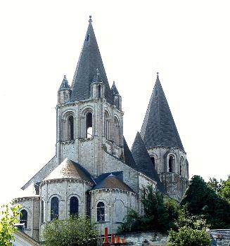 Loches - Eglise Saint-Ours - Chevet