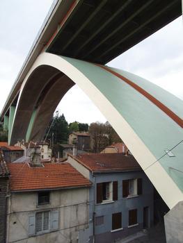 A47 - Rive-de-Gier - Pont en arc