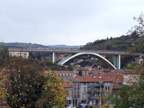 A47 - Rive-de-Gier - Pont en arc - Ensemble