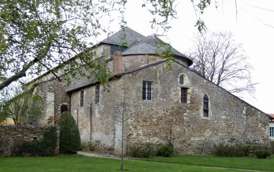 Saint-Philibert-de-Grand-Lieu - Abbatiale Saint-Philibert - Abbatiale vue du chevet