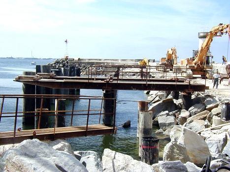 La Turballe - Quai de débarquement du port de pêche