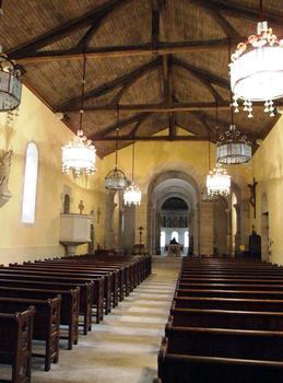 Germigny-des-Près - Oratoire carolingien - La nef