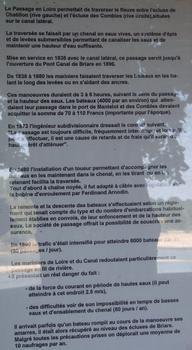 Canal latéral à la Loire - Châtillon-sur-Loire - Ancien tracé, passage de la Loire - Panneau d'information