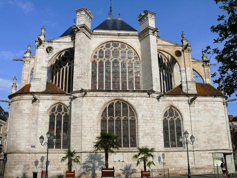 Montargis - Eglise de la Madeleine - Chevet