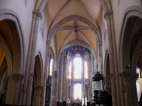 Montargis - Eglise de la Madeleine - Nef