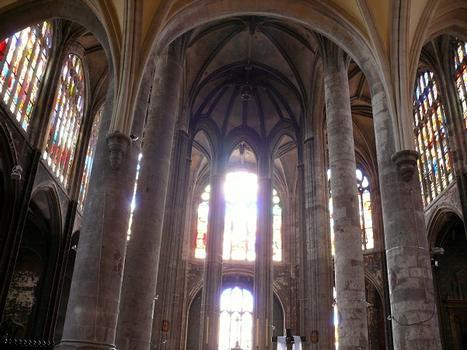 Montargis - Eglise de la Madeleine - Le choeur construit après 1525