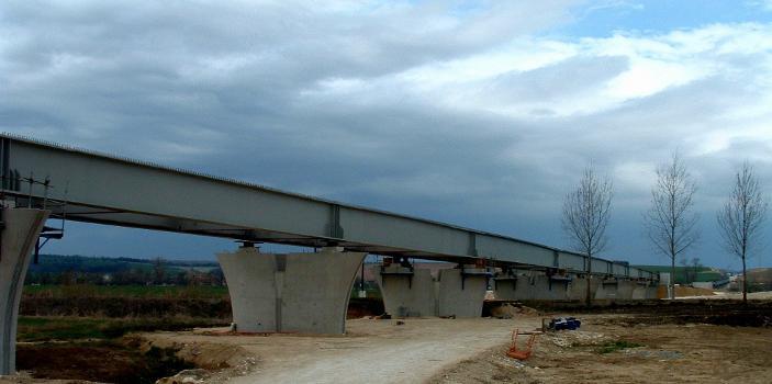 TGV-Neubaustrecke Ost-Europa  Los 37 Viadukte