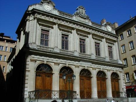 Loge du Change (actuel temple du Change) à Lyon