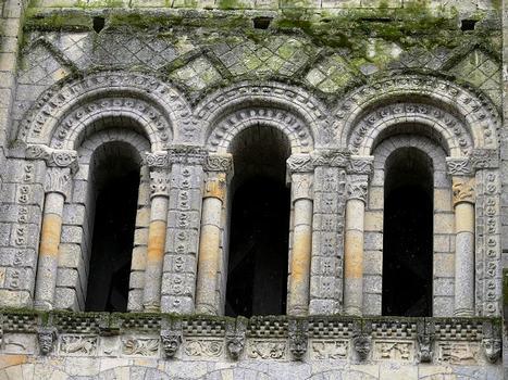 Eglise priorale Notre-Dame de Cunault - Clocher