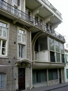 Maison HennebiqueFaçade sur rue