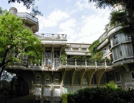 Maison HennebiqueFaçade sur cour